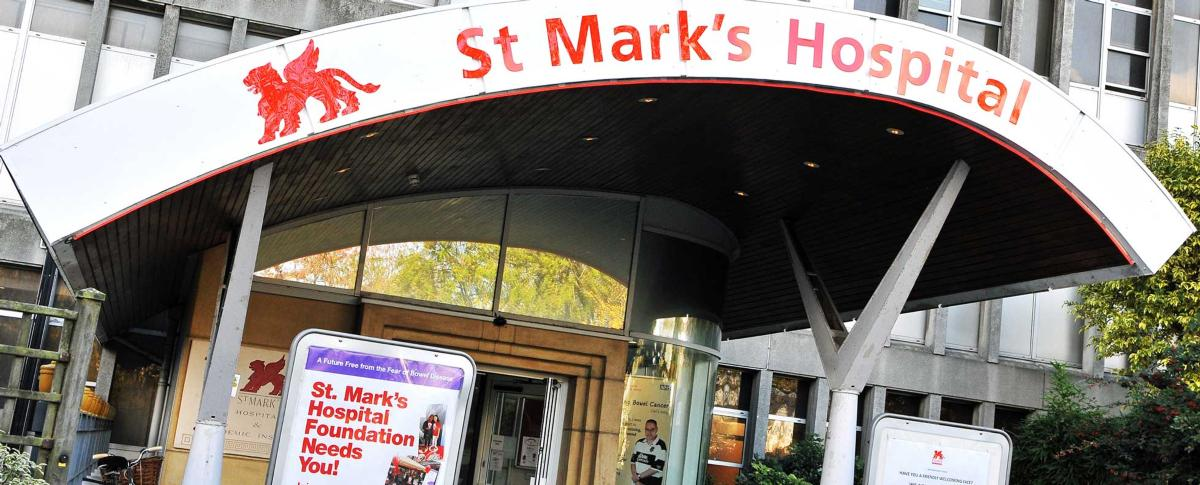 St. Mark's Hospital main entrance