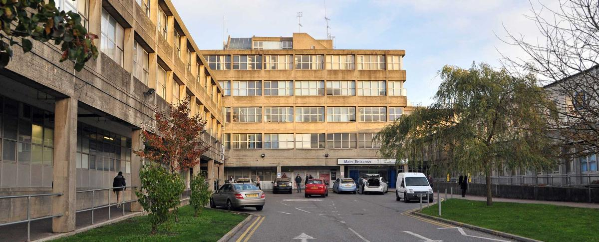 Northwick Park Hospital main entrance