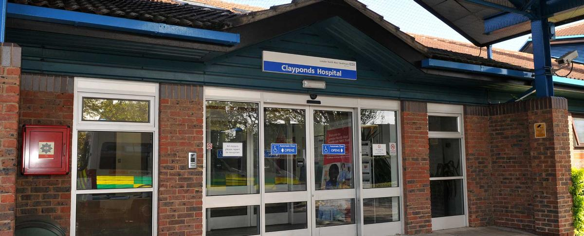 Clayponds Community Hospital main entrance