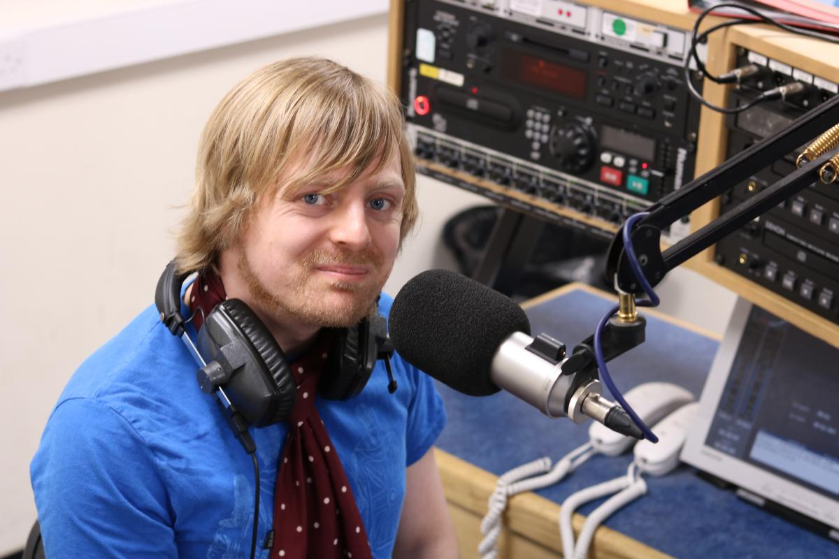 Radio Harrow presenter David Stone